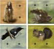 Мишени Crosman Varmint Targets, 20 штук