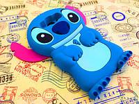 Резиновый 3D чехол для Samsung J710F Galaxy J7 2016(самсунг гэлэкси джи 7 2016) Стич