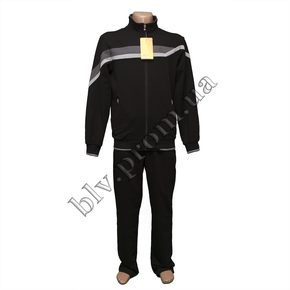 Трикотажный мужской спортивный костюм тм. Boulevard  FZ1607N