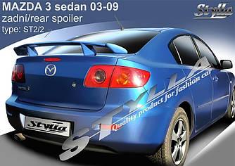 Спойлер тюнинг Mazda 3