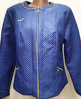 Осенняя куртка из мелкой стеганной ткани 8360