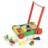 Toys Viga каталка с конструктором 50306, фото 1