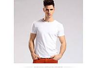 Белая футболка orig хлопок 100%  размеры M, L, XL, XXL код 1561, фото 1