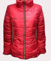 Женская куртка со съемным капюшоном  №3360