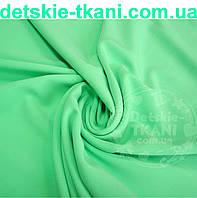 Ткань однотонная хлопковая Mist салатового цвета ( № 369м)
