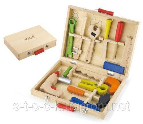 Набор инструментов в ящике.Toys Viga 50388
