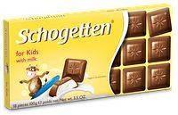 Шоколад молочный Schogеtten Per Bambini for kids детский 100г