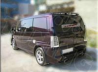 Cпойлер тюнинг Mercedes Vito W638 распашенка