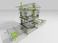 Проектирование внешних и внутренних инженерных сетей
