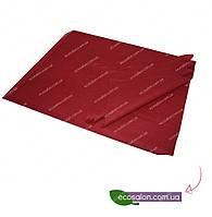 Одноразовые коврики 50*40 см, бордо  (100 шт.)