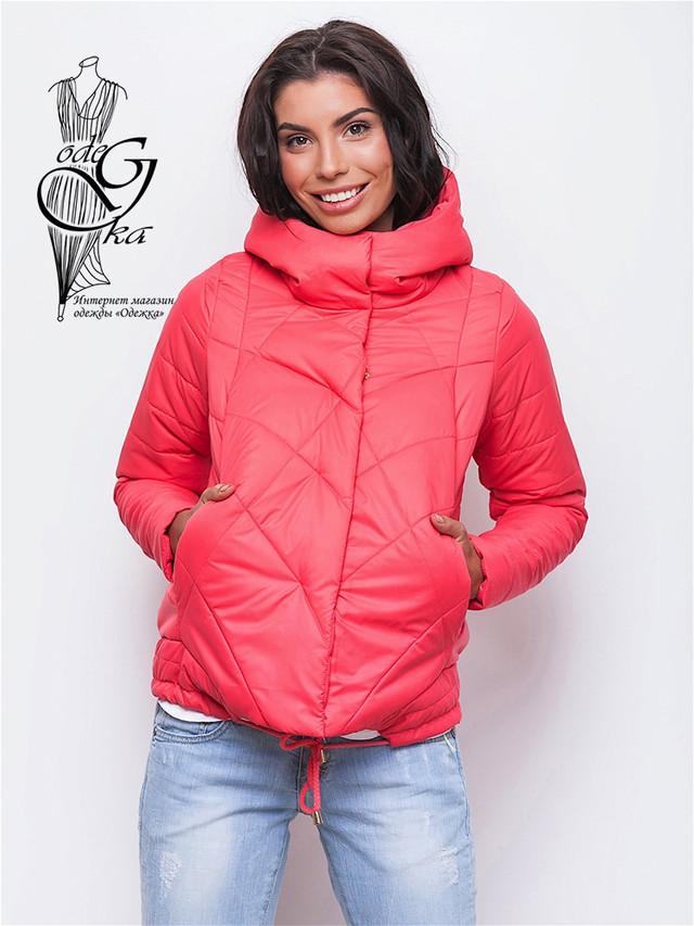 Фото Куртки весенней молодежной женской Киви-3