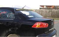 Спойлер заднего стекла Mitsubishi Lancer X