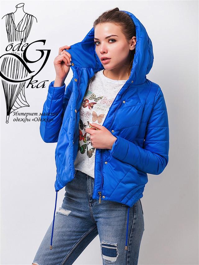 Фото-2 Куртки весенней молодежной женской Киви-1