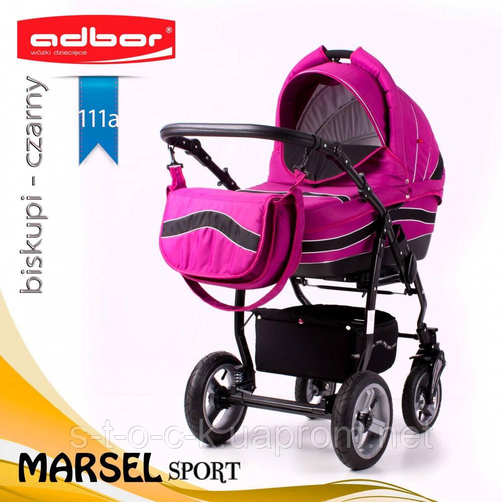 Коляска 3 в 1 Adbor Marsel Sport 111a