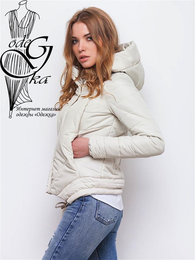 Фото-1 Куртки весенней молодежной женской Киви-2