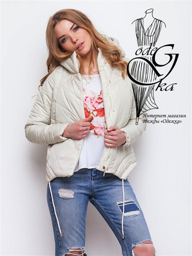 Фото-2 Куртки весенней молодежной женской Киви-2