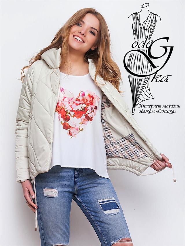 Фото-3 Куртки весенней молодежной женской Киви-2