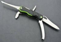 Многофункциональный нож Тотем КВ001 качественный туристический нож из пилкой