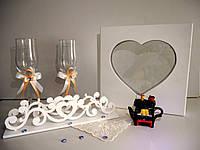 Набор для песочной свадебной церемонии