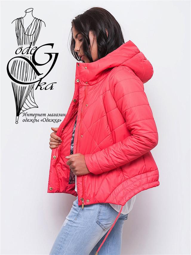 Фото-2 Куртки весенней молодежной женской Киви-3