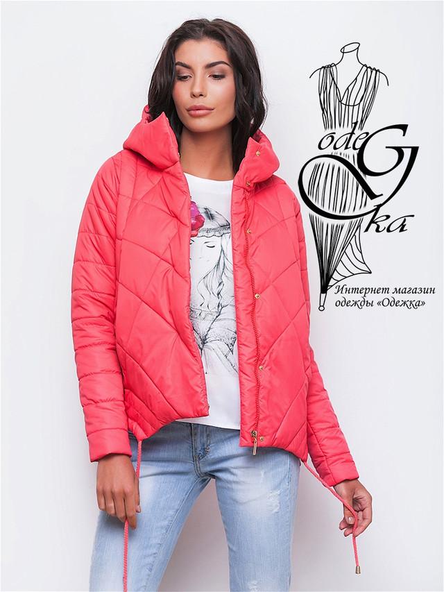 Фото-3 Куртки весенней молодежной женской Киви-3