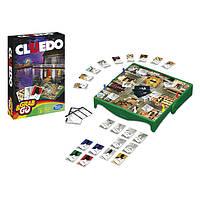 Настольная детективная игра Клуэдо (Дорожная версия). Оригинал Hasbro
