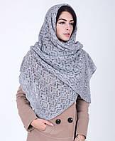 Нежная женская шаль из шерсти