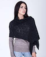 Теплая женская шаль