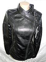 """Куртка женская """"BIN"""" кожзам S-XXL модная качественная молодежная купить оптом в Одессе 7км дешево"""