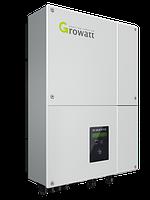 Сетевой инвертор Growatt 5000 TL (5 кВт, 1-фазный, 2 МРРТ) Зеленый тариф