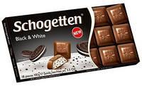Шоколад молочный Schogetten Black and White 100 г