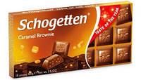 Шоколад молочный Schogetten Caramel с карамельной начинкой 100г