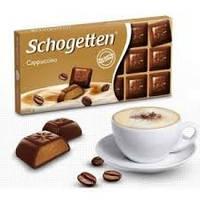 Шоколад молочный Schogetten Cappuccino капучино 100 г
