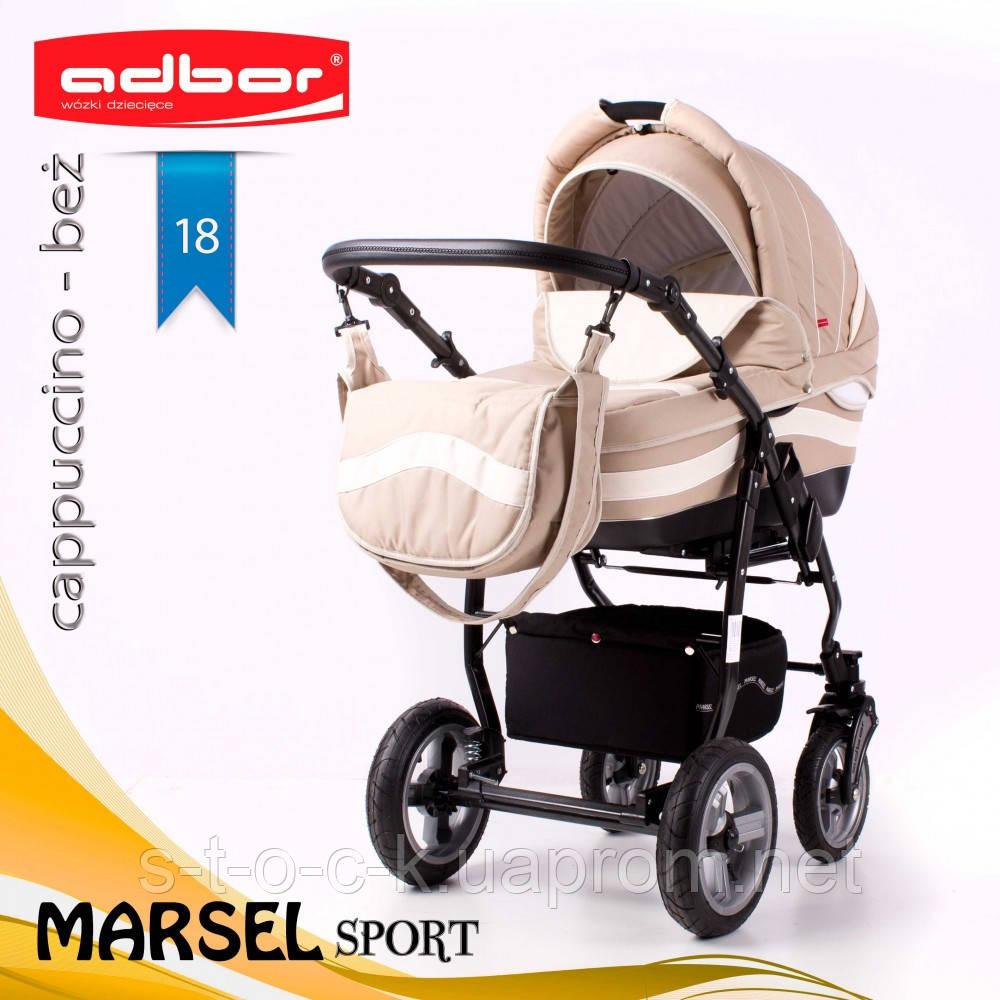 Коляска 3 в 1 Adbor Marsel Sport 18