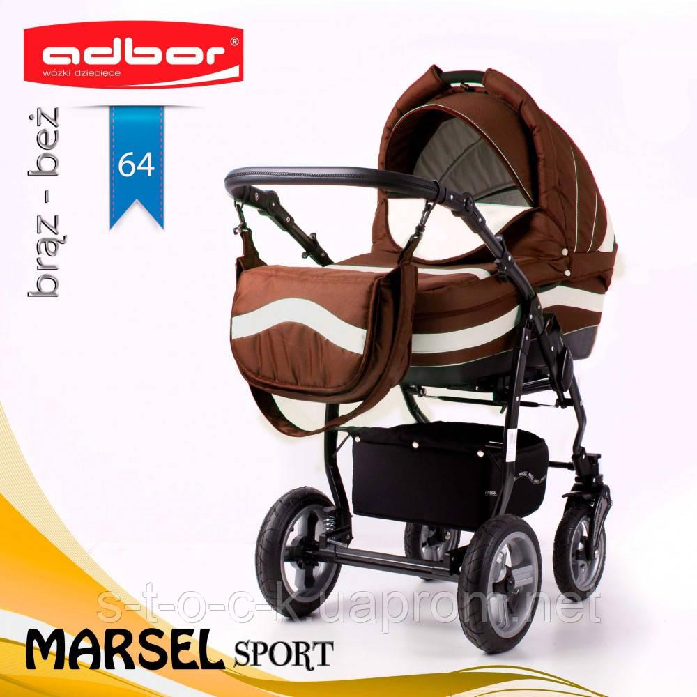 Коляска 3 в 1 Adbor Marsel Sport 64