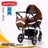 Коляска 3 в 1 Adbor Marsel Sport 64, фото 1