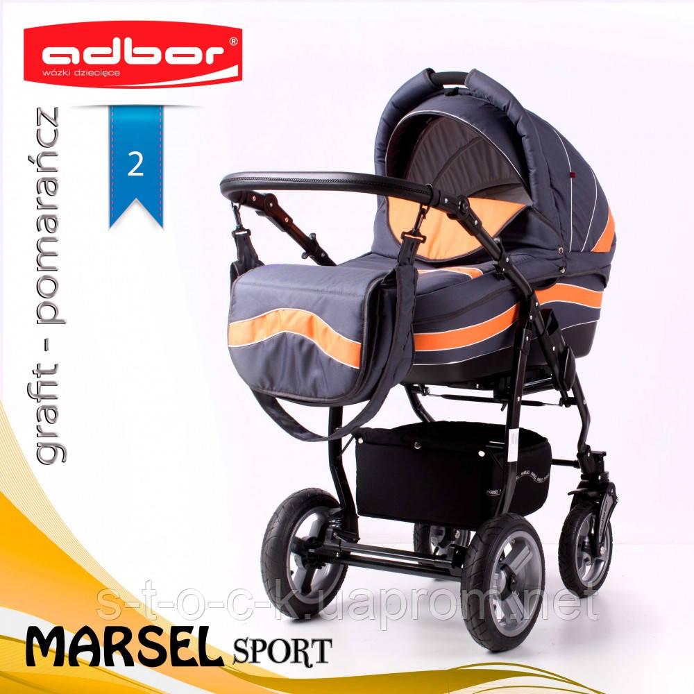 Коляска 3 в 1 Adbor Marsel Sport 02