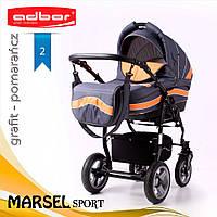 Коляска 3 в 1 Adbor Marsel Sport 02, фото 1