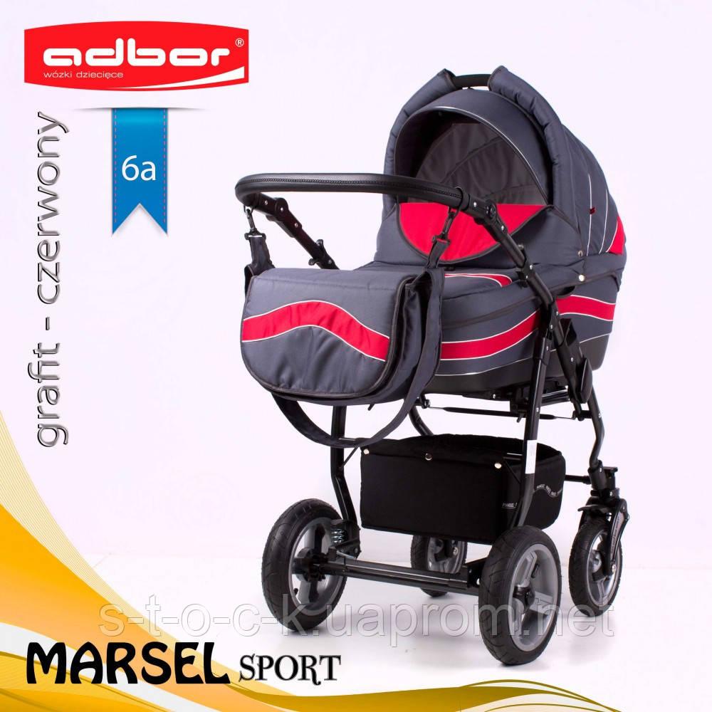 Коляска 3 в 1 Adbor Marsel Sport 6a
