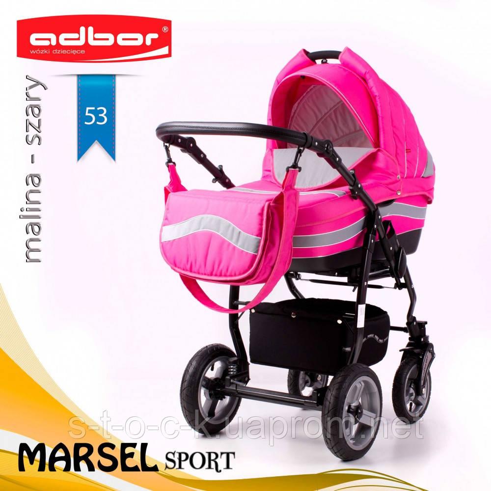 Коляска 3 в 1 Adbor Marsel Sport 53