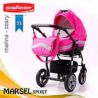 Коляска 3 в 1 Adbor Marsel Sport 53, фото 1