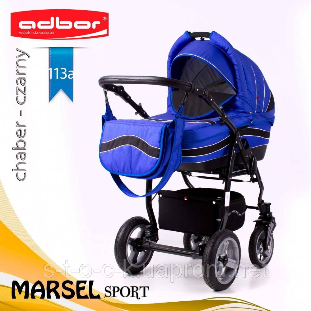 Коляска 3 в 1 Adbor Marsel Sport 113a
