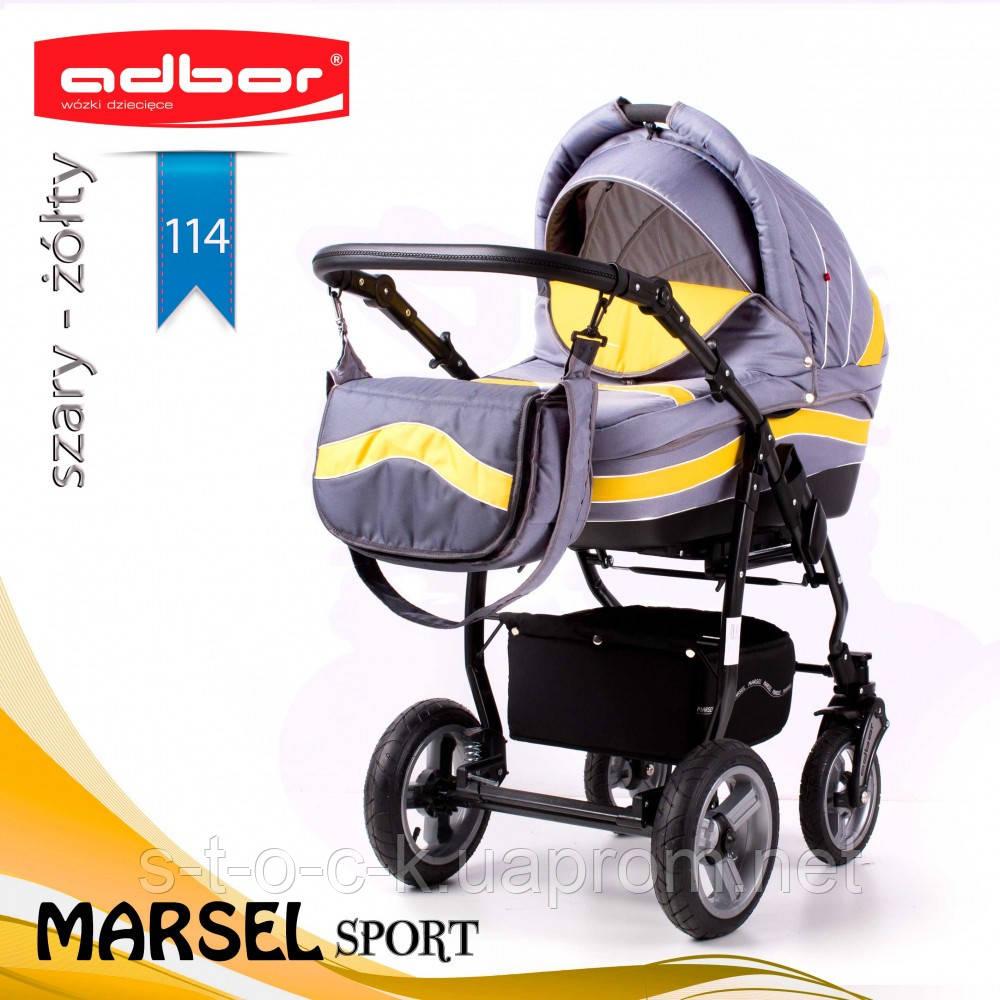 Коляска 3 в 1 Adbor Marsel Sport 114