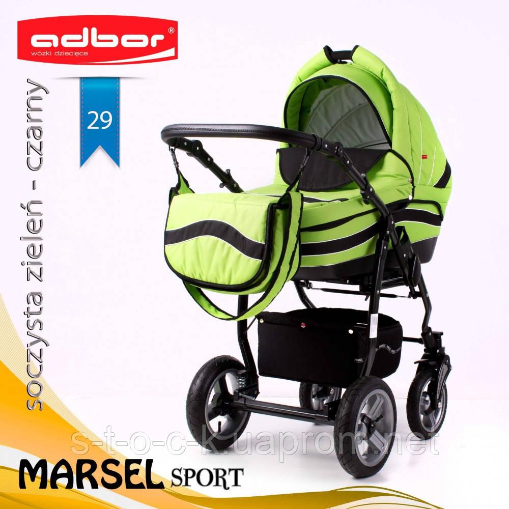 Коляска 3 в 1 Adbor Marsel Sport 29