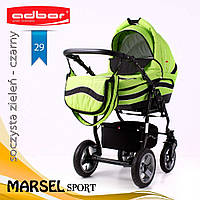 Коляска 3 в 1 Adbor Marsel Sport 29, фото 1