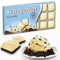 Шоколад молочный Schogetten Stracciatella 100 г