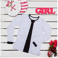 Блузка для девочек  ТМ Фламинго, стрейч-кулир (артикул 867-412)