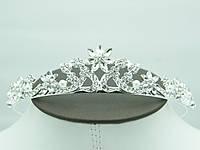 Свадебные диадемы с кристаллами для невест.  Украшения для свадьбы от Бижутерии оптом RRR. 49