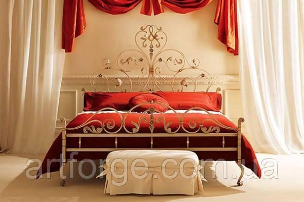 Ковані ліжка. Ліжко ІК 071