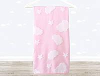 Полотенце детское Irya Cloud 70*120 розовое